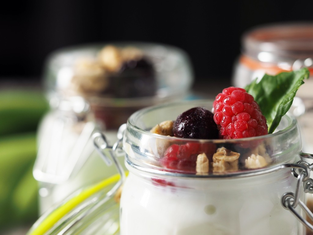 jogurt domácí svačina